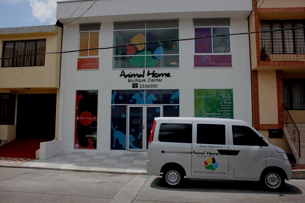 Fachada Animal Home Nuestra Historia